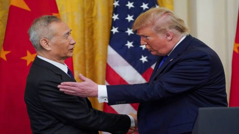 Trump hails China trade deal as 'much better' than ...