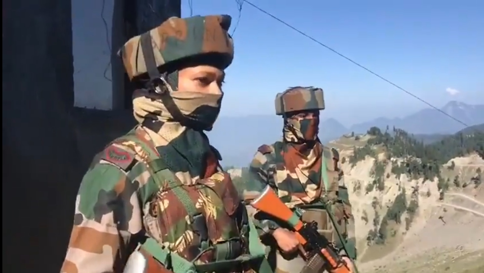 For the first time, the Indian Army has deployed women close to the LoC -  BaaghiTV English