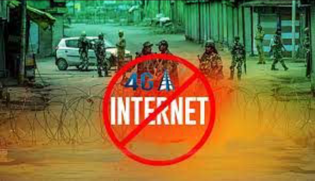 India extends ban on high speed internet in IIOJK - BaaghiTV English