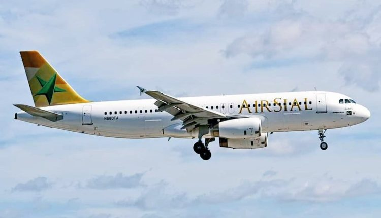 Airsial: Another Airbus A320 on its way to Pakistan