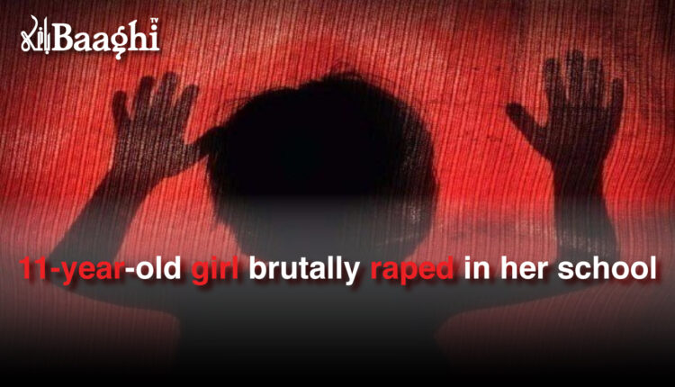 11-year-old girl brutally raped in her school #Baaghi