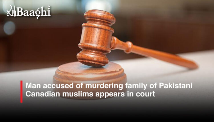 Pakistani Canadian appears in court #Baaghi