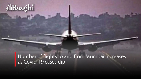 Number of flights to and from Mumbai increases as Covid-19 cases dip #baaghi