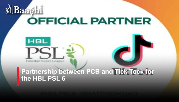 Partnership PCB and TICK Tock #Baaghi