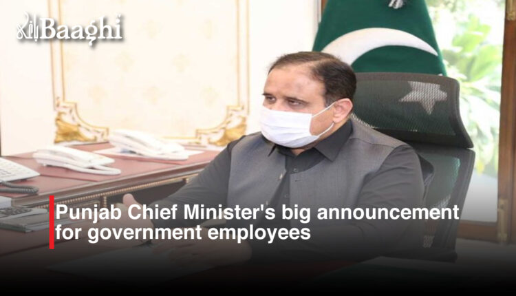Punjab Chief Minister's big announcement for government employees #baaghi