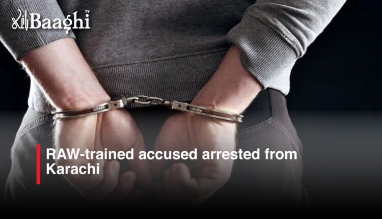 RAW trained arrested #Baaghi