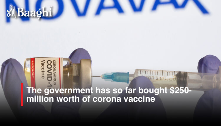 The government has so far bought $250million worth of corona vaccine #Baaghi