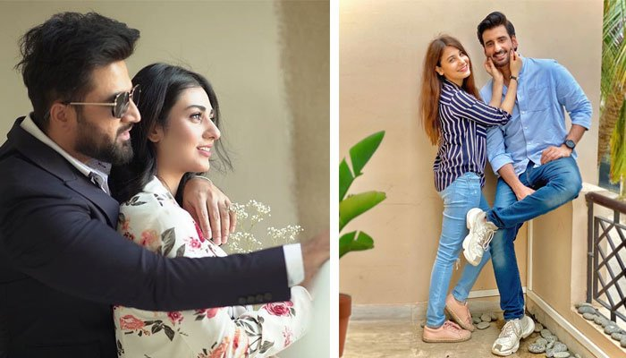 Agha and Falak had a fascinating talk with their life partners goes viral