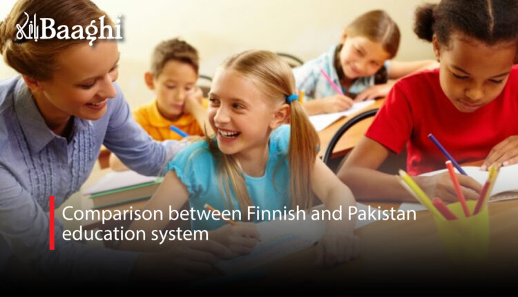 Comparison between Finnish and Pakistan education system #Baaghi