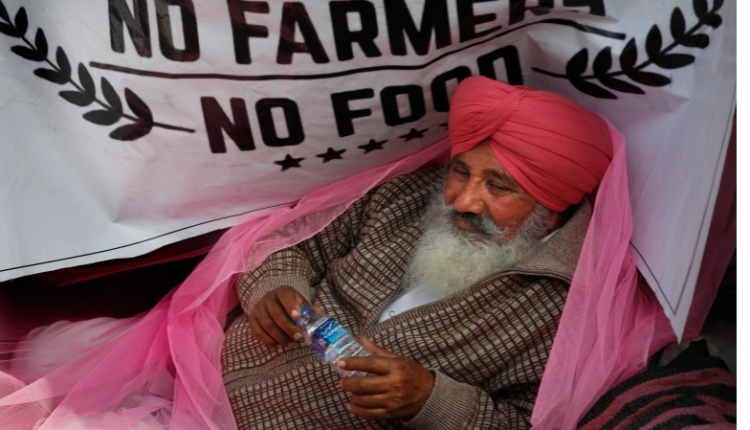 India farmers to protest near parliament to demand repeal of laws