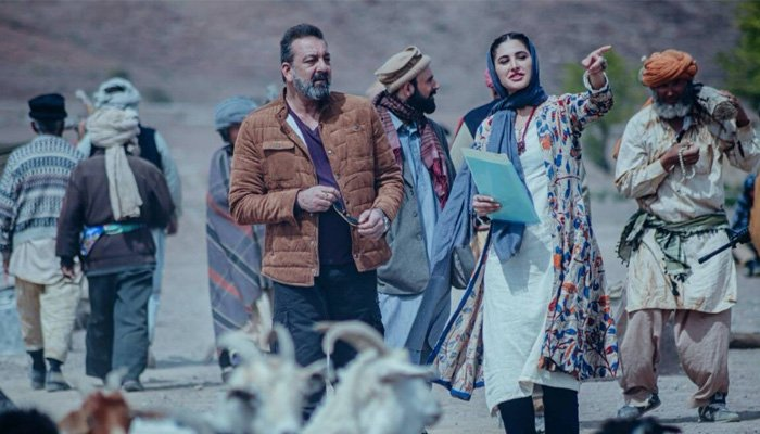 Which Bollywood films were shot in Afghanistan?