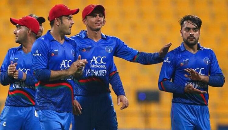 Afghanistan cricket team has started training in the capital Kabul