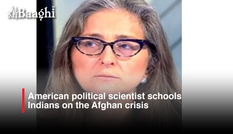 American-political-scientist-schools-Indians-on-the-Afghan-crisis #Baaghi