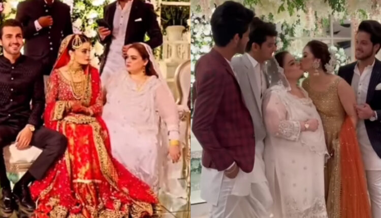 Minal Khan and Ahsan Mohsin's Barat - See the Pictures!
